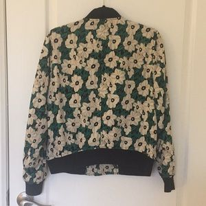 Who What Wear Jackets & Coats - Who what wore floral bomber jacket